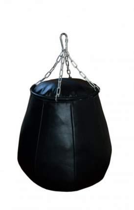 Боксерская груша РОККИ натуральная кожа 60х50 см 50 кг