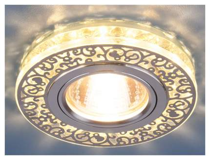 Встраиваемый точечный светильник Elektrostandard 6034 MR16 CH/CL a029893 Хром/Прозрачный