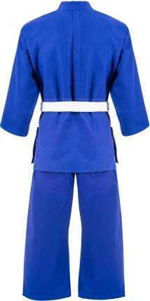 Кимоно для дзюдо Green Hill MA-302 синее, р.1/140