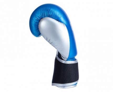 Боксерские перчатки Clinch Mist синие 6 унций