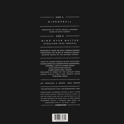 """Виниловая пластинка Young The Giant Mirrorball (10"""" Vinyl Single)"""