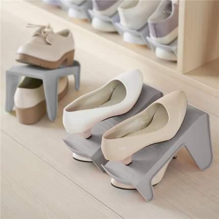 Подставка для обуви BeautyLogic KIA-8 13х24,5х14 см, серый