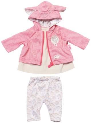 Одежда для кукол Zapf Creation Baby Annabell Для прогулки Молочный/Розовый