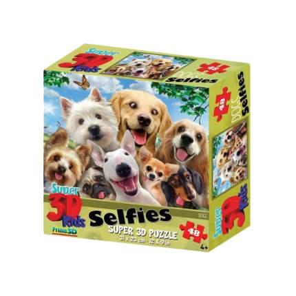 Пазл PRIME 3D 13535 Собаки селфи