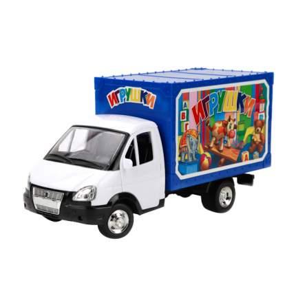 Машинка Технопарк пласт. газель игрушки, со светом и звуком