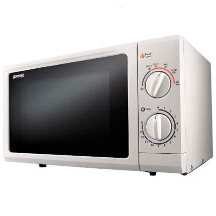 Микроволновая печь соло Gorenje MO17MWUR black/white