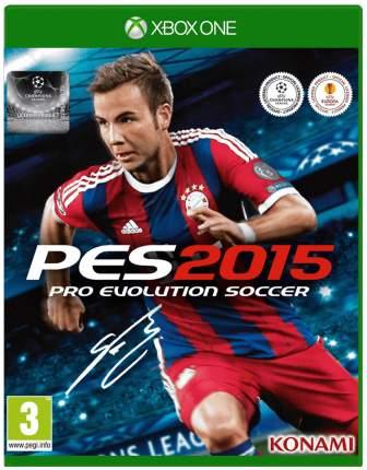 Игра для Xbox One Pro Evolution Soccer 2015