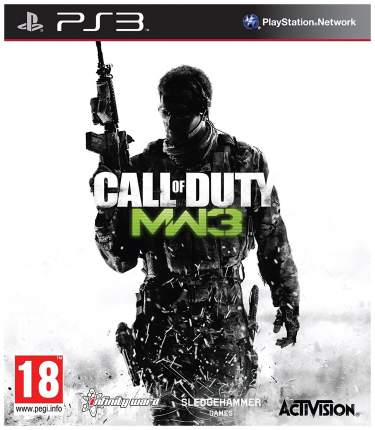 Игра Call of Duty:Modern Warfare 3 для PlayStation 3