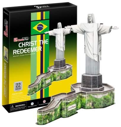 Пазл Cubic Fun 3D C187h Кубик фан Статуя Христа-Искупителя (Бразилия)
