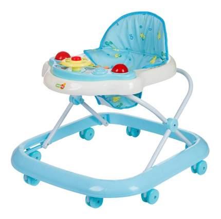 Ходунки детские babyhit action-blue