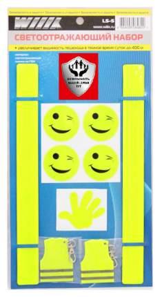 Наклейка на стекло автомобиля Wiiix LS-5