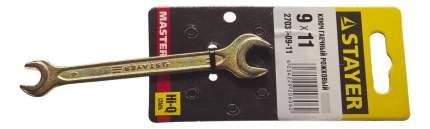 Рожковый ключ Stayer 27038-09-11