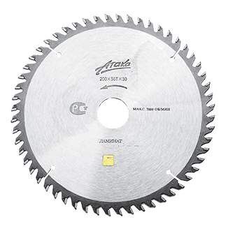 Диск по ламинату для дисковых пил Атака DPLHF-110203015