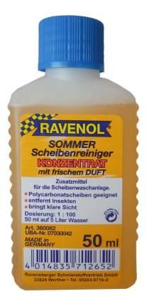 Концентрат жидкости для стеклоомывателя RAVENOL 0.05л 1:100 1360082-050-05-045