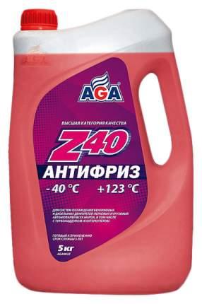 Антифриз AGA G11 красный 5л