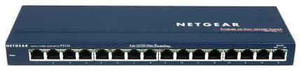 Коммутатор NetGear ProSafe FS116GE Синий