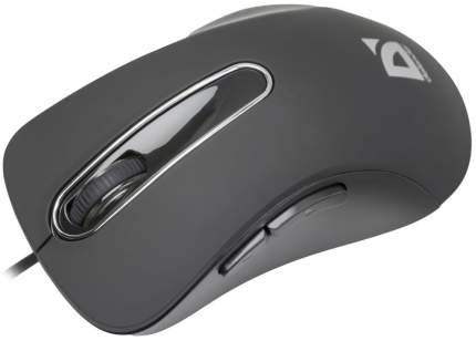 Проводная мышка Defender Datum MM-070 Black (52070)