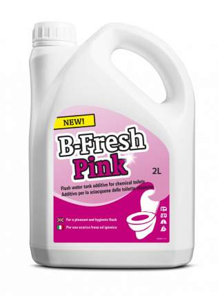Thetford Жидкость для биотуалетов Thetford B-FRESH RINSE для верхнего бака розовая 2л