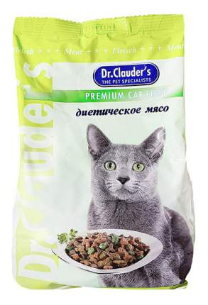 Сухой корм для кошек Dr.Clauder's Premium Cat Food, диетическое мясо, 15кг