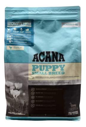 Сухой корм для щенков ACANA Heritage Puppy Small Breed, для мелких пород, цыпленок, 2кг