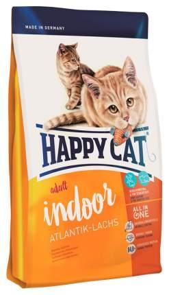 Сухой корм для кошек Happy Cat Fit & Well Indoor, для домашних, атлантический лосось,0,3кг