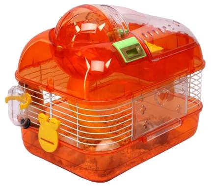 Клетка для хомяков KREDO 27х20х26см электронный счетчик оборотов колеса