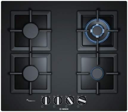 Встраиваемая варочная панель газовая Bosch PPH6A6B20 Black