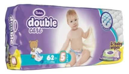 Подгузники Violeta Double Care Junior 5 (11-25 кг), 62 шт.