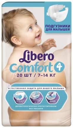 Подгузники Libero Comfort Mini 4 (7-14 кг), 20 шт.