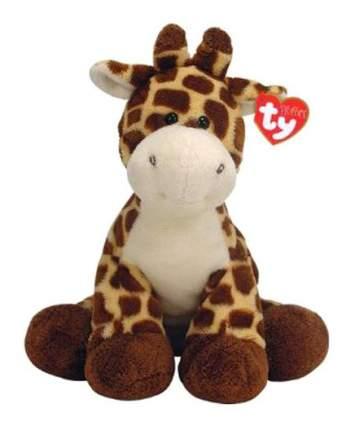 Мягкая игрушка TY Pluffies Жираф Tiptop 25 см