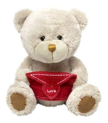 Мягкая игрушка LAVA Медведь Берни с конвертом музыкальный 18 см