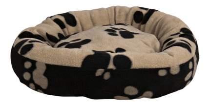 Лежанка для кошек и собак TRIXIE 50x50x14см бежевый, черный
