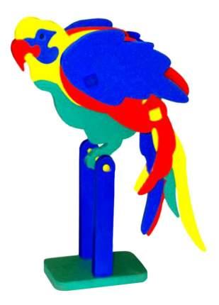 Конструктор мягкий Флексика Попугай