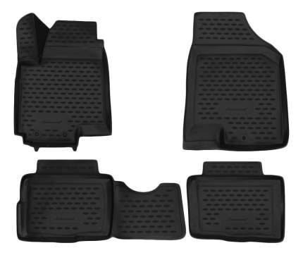 Комплект ковриков в салон автомобиля Autofamily для KIA (NLC.3D.25.25.210)