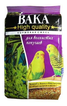 Основной корм Вака для волнистых попугаев 500 г, 1 шт