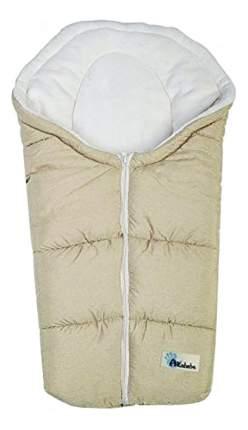 Конверт-мешок для детской коляски Altabebe Alpin Pram & Car seat beige/whitewash