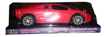 Машинка инерционная BeBoy Дорожный герой Ламборджини красный