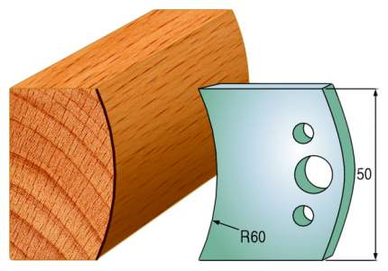 Комплект из 2-х ножей 50x4 SP CMT 690.573
