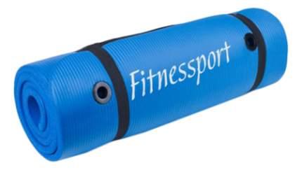 Коврик для фитнеса Fitnessport FT-EM-10-B синий 15 мм