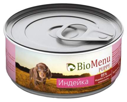 Консервы для щенков BioMenu Puppy, индейка, 100г