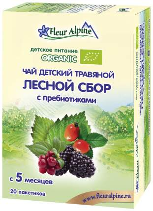 Чай Fleur Alpine Лесной сбор с пребиотиками с 5 мес 30 г