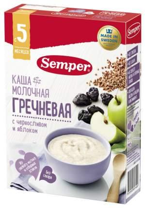 Молочная каша Semper Гречневая с черносливом и яблоком с 5 мес 200 г