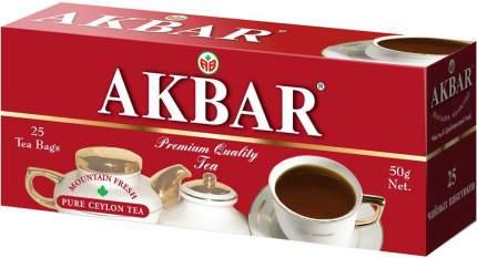 Чай черный Akbar 25 пакетиков