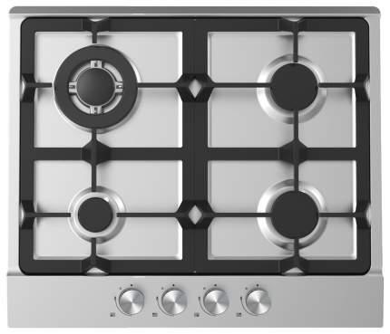 Встраиваемая варочная панель газовая Midea MG690TX Silver