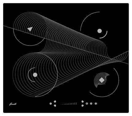 Встраиваемая варочная панель индукционная Fornelli PIA 60 MERIDIA Black