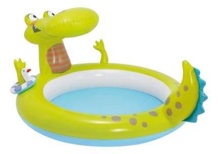 Бассейн надувной Intex Крокодил с фонтанчиком