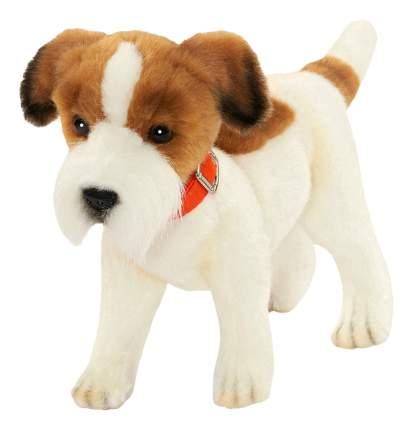 Мягкая игрушка Hansa Собака Джек Рассел Терьер 31 см белый коричневый Плюш 5901