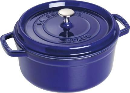 Staub Кокот круглый, 24 см (3.8 л), фиолетовый