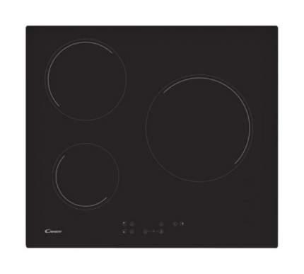 Встраиваемая варочная панель индукционная Candy CH63CT Black