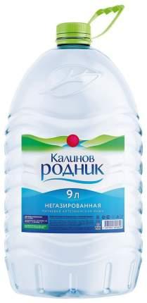 Вода артезианская Калинов Родник негазированная пластик 9 л